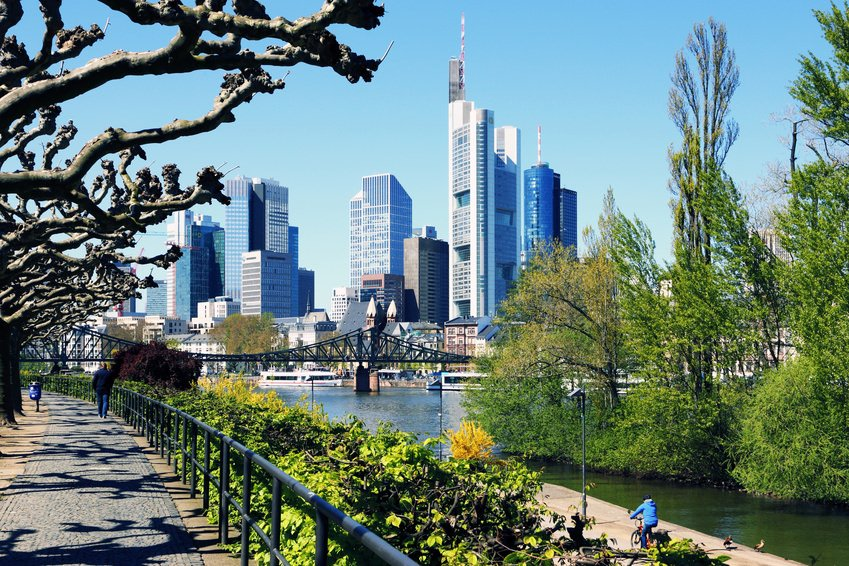Frankfurt Main view
