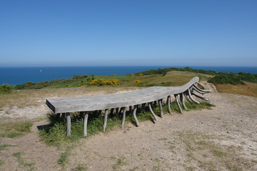 Hiddensee bench