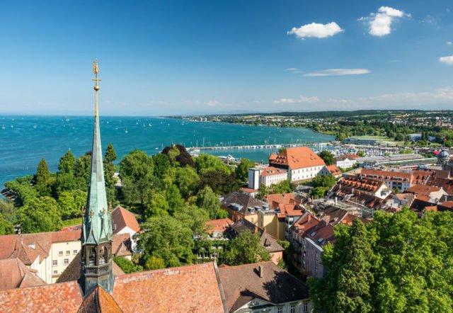 Konstanz at Lake Constance