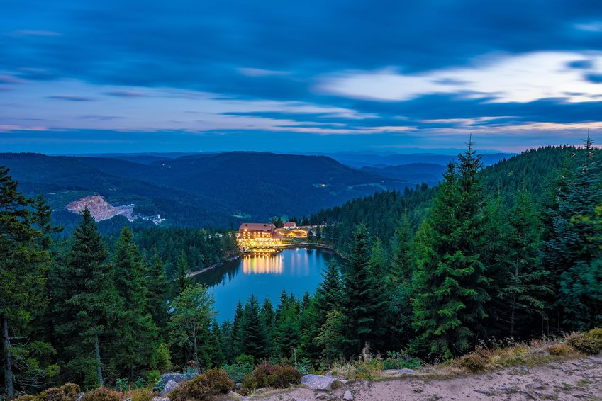 Mummelsee Black Forest Germany