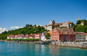 Meersburg at Lake Constance