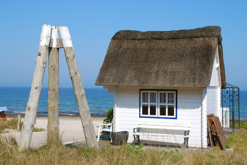 Scharbeutz - Thatched roof house