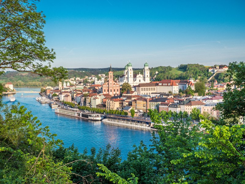 View of Passau Germany