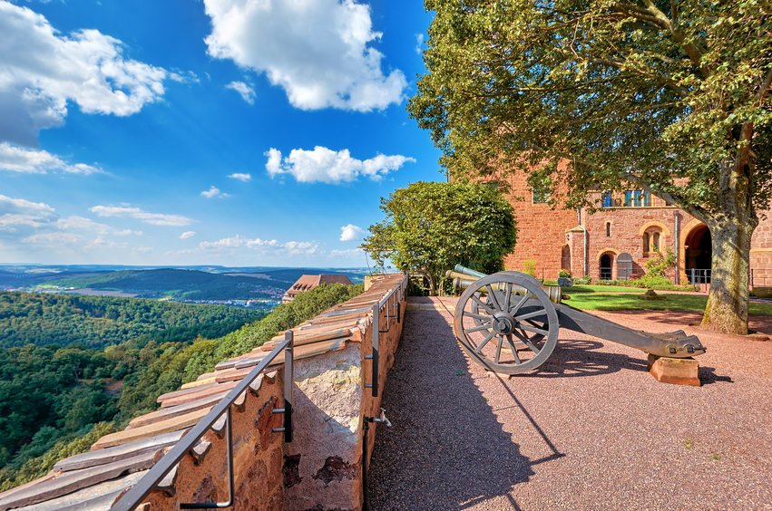 Wartburg Castle cannon