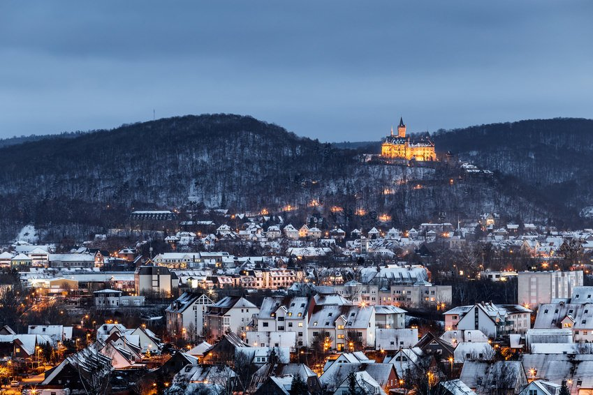 Wernigerode during Winter