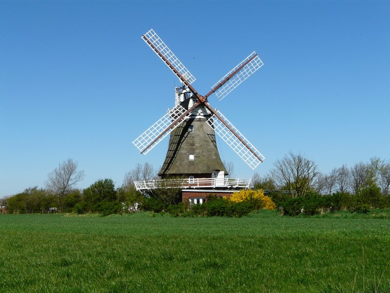 Windmill in Oldsum, Föhr