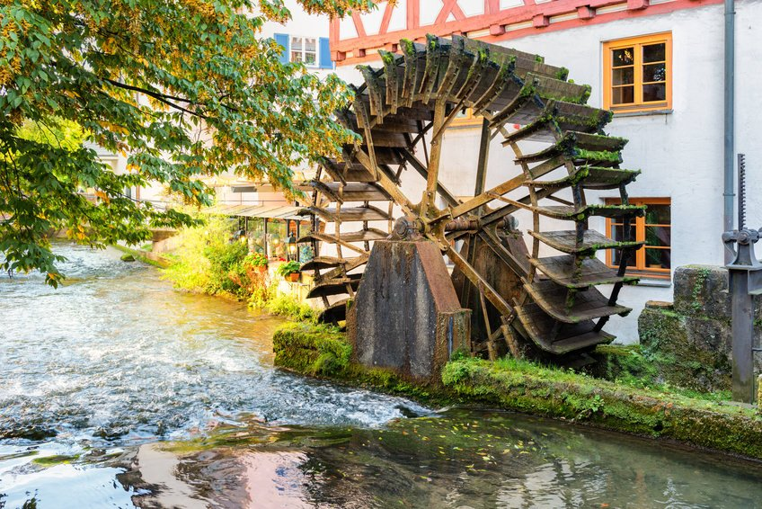 Water Mill in Ulm