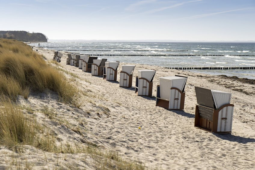 Poel Island with Beach Chairs