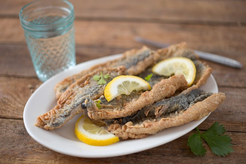 German Brathering fried Herring