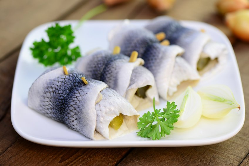 German Rollmops Herring