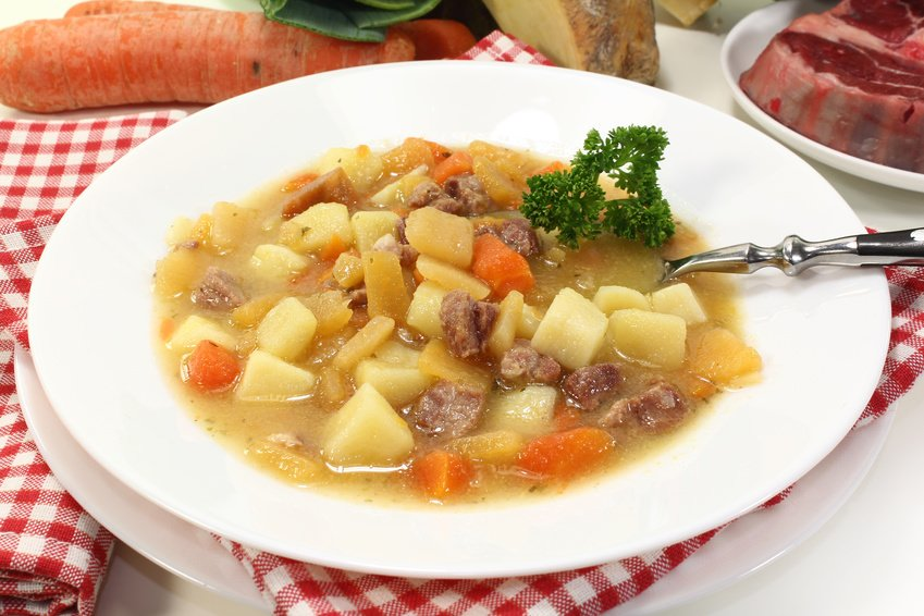 German Rutabaga stew