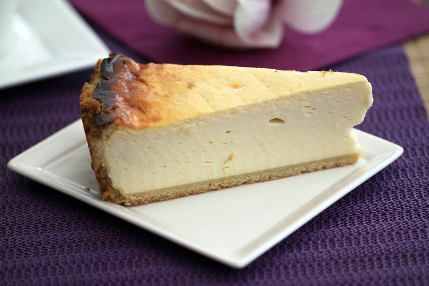 German cheesecake Käsekuchen