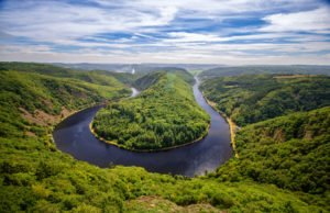 Saar River Germany