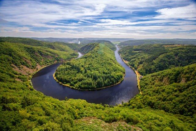 Saar River Germany