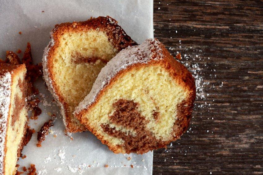 Marmorkuchen marble cake