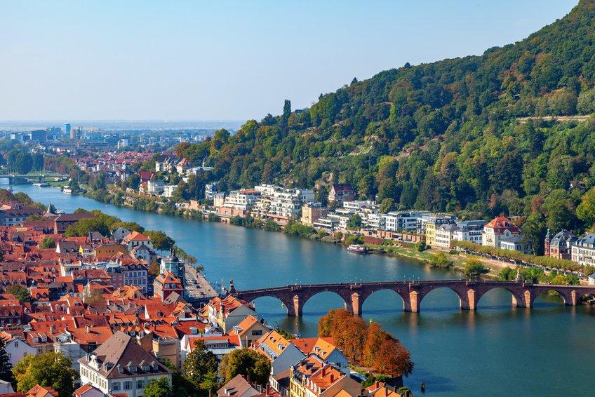 Neckar River Germany