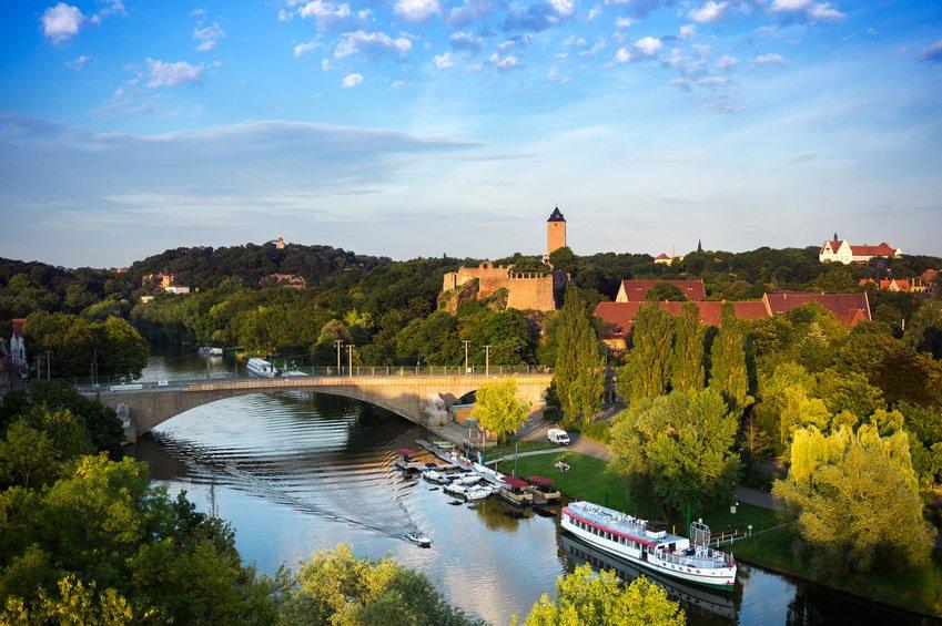 Saale River Germany