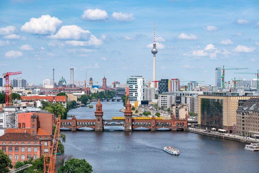 Spree River in Germany