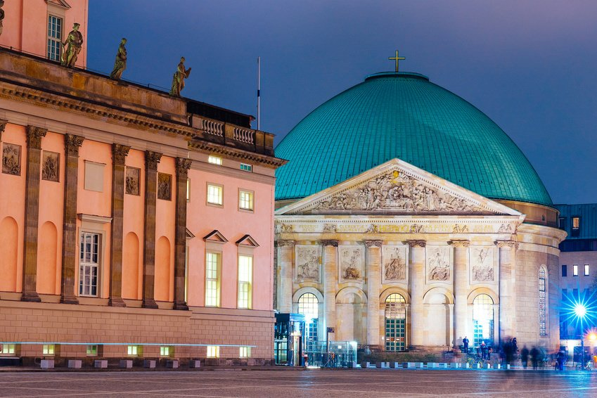 St. Hedwig's Cathedral Berlin