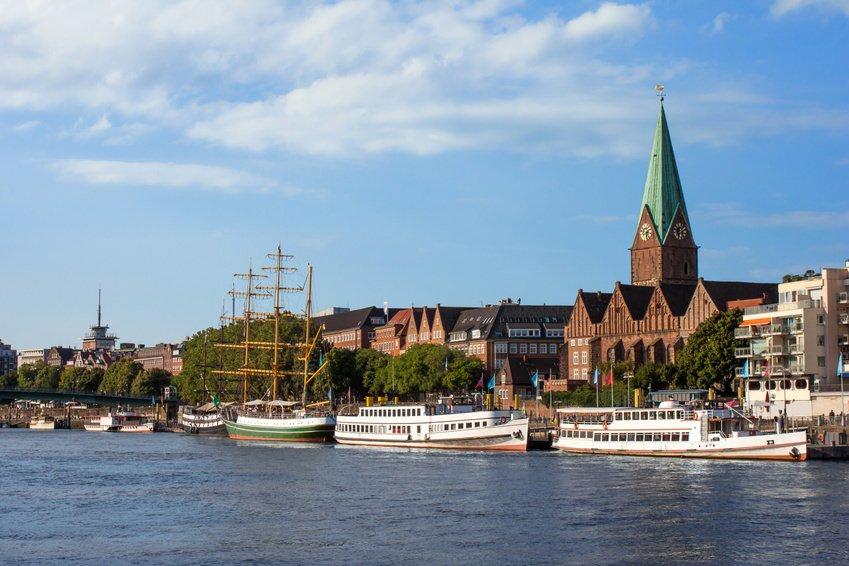 Weser River Germany